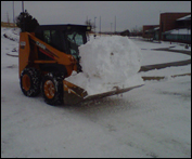 Skid Steer Snow Removal